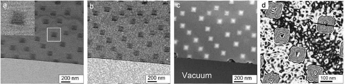 TEM Sample Thickness Determination by Electron Holography